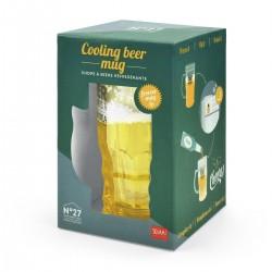 BOCCALE DI BIRRA refrigerante ILLUSIONE OTTICA cooling beer mug LEGAMI home sweet home Legami - 2