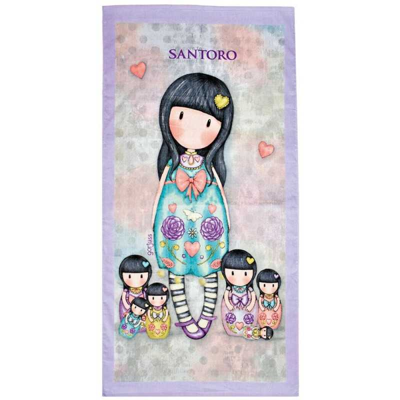 TELO MARE asciugamano SEVEN SISTERS gorjuss SA91016 santoro SALVIETTA cotone Gorjuss - 1