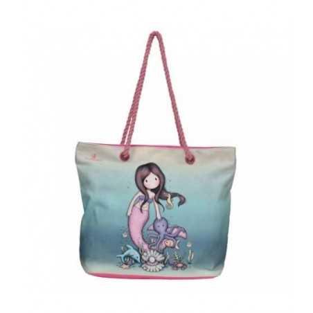 BEACH BAG borsa da spiaggia GORJUSS santoro SO NICE TO SEA YOU con manici SA07110 Gorjuss - 1
