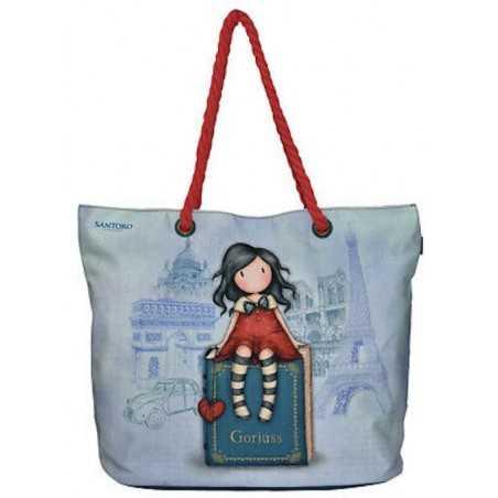 BEACH BAG borsa da spiaggia GORJUSS santoro MY STORY con manici SA07102 Gorjuss - 1