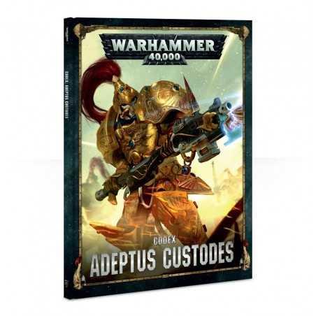 CODEX ADEPTUS CUSTODES in italiano manuale Warhammer 40000 regolamento Games Workshop - 1