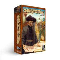 NAVEGADOR gioco da tavolo CRANIO CREATIONS epoca coloniale STRATEGICO esplorazione SCOPERTA età 12+ Cranio Creations - 1