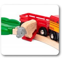 FERROVIA ANIMALI DEL NORD BRIO 33988 set treni in legno per bambini BRIO - 3