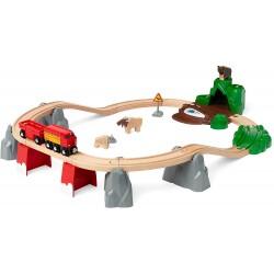 FERROVIA ANIMALI DEL NORD BRIO 33988 set treni in legno per bambini BRIO - 2