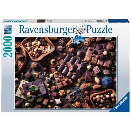 PUZZLE 2000 pezzi Ravensburger PARADISO DI CIOCCOLATA ORIGINALE 98x75cm Ravensburger - 1