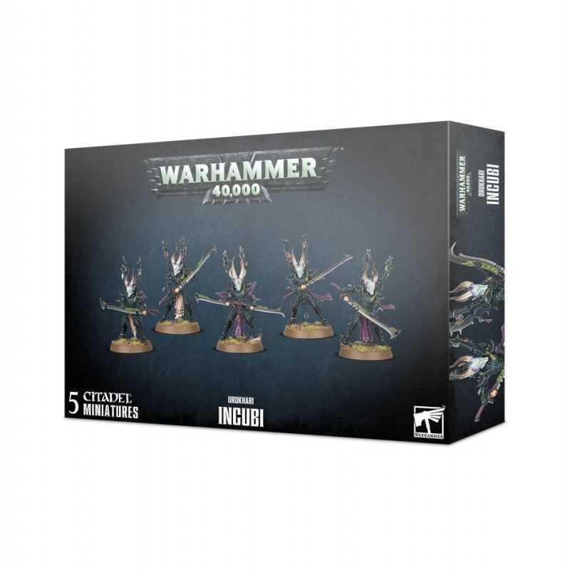 INCUBI 5 miniature DRUKHARI citadel WARHAMMER 40K games workshop ELDAR OSCURI età 12+ Games Workshop - 1