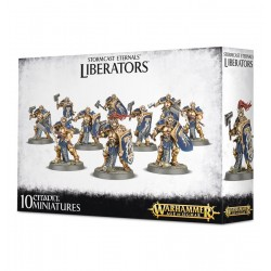 STORMCAST ETERNALS LIBERATORS 10 miniature WARHAMMER age of sigmar Games Workshop - 1