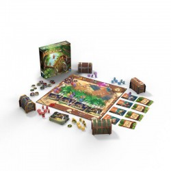 BANDITI DI SHERWOOD gioco da tavolo PENDRAGON in italiano ASMODEE età 14+ Pendragon Games - 2
