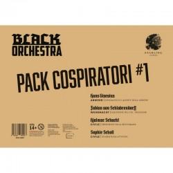 PACK COSPIRATORI 1 espansione per BLACK ORCHESTRA in italiano DIPLOMATICO E AGENTE DELLA ABWEHR età 14+ Asmodee - 1