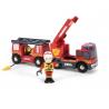 CAMION DEI POMPIERI a batteria LUCI E SUONI emergency fire engine 33811 BRIO world TRENI età 3+ BRIO - 1