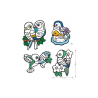 COLORARE CON IL VELLUTO kit artistico UCCELLINI creativo DJECO DJ09099 età 3+ Djeco - 2