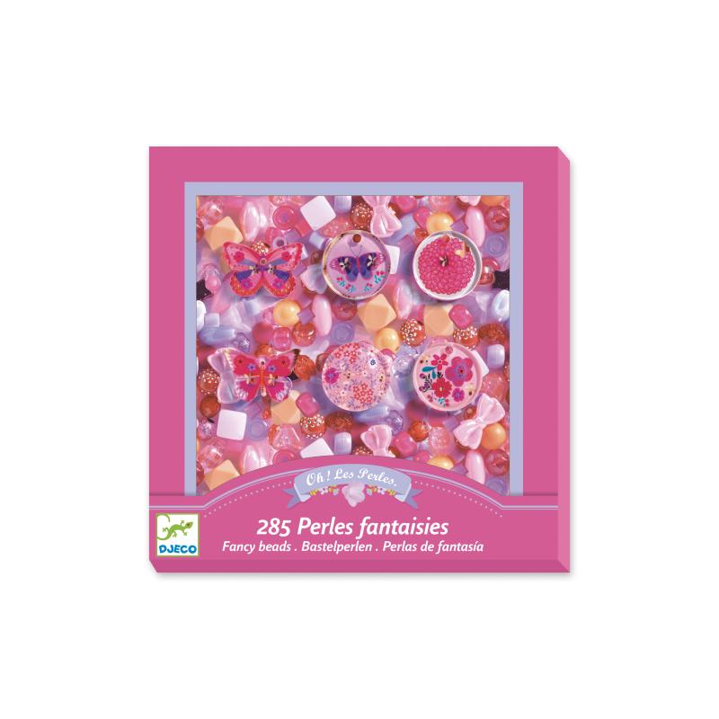 285 PERLE FANTASIA kit artistico CREA GIOIELLI creativo FARFALLE assortite DJECO DJ09857 età 6+ Djeco - 1