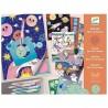 DISEGNO CON LE SPIRALI quaderno 10 TEMI kit artistico DJECO creativo DJ08736 età 7+ Djeco - 3
