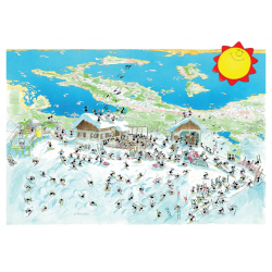PUZZLE fabio vettori PANORAMA made in italy 1080 PEZZI eco friendly 48,5 X 68,5 CM le formiche FABIO VETTORI - 1
