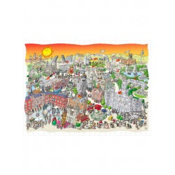 PUZZLE fabio vettori MADRID made in italy 1080 PEZZI eco friendly 48,5 X 68,5 CM le formiche FABIO VETTORI - 1