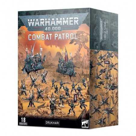 PATTUGLIA DA COMBATTIMENTO DRUKHARI Combat Patrol 18 miniature Warhammer 40000 Games Workshop - 1