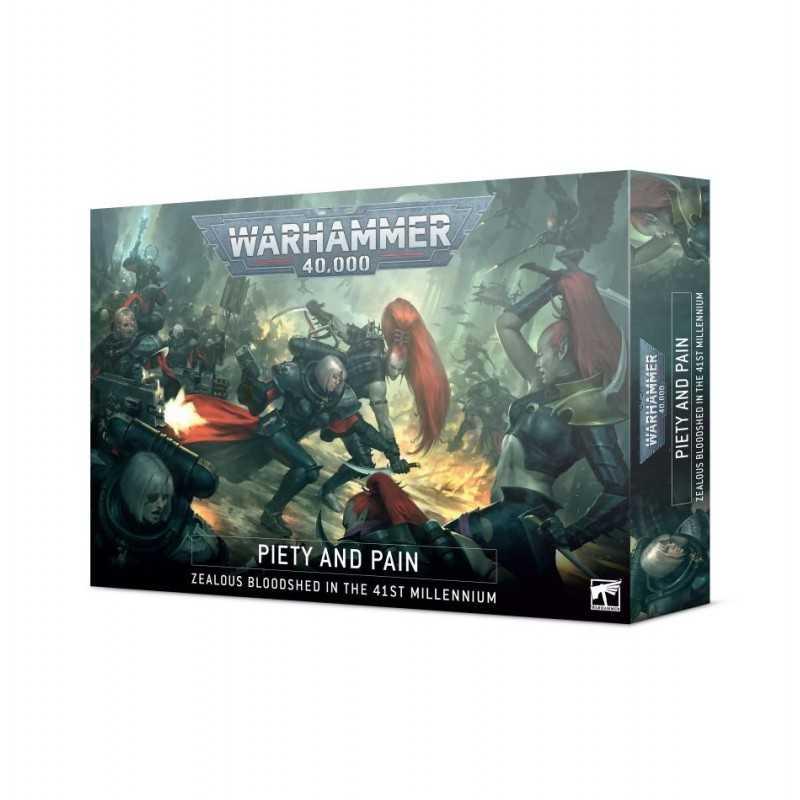 PIETY AND PAIN Warhammer 40k Drukhari vs Adepta Sororitas 26 miniatures Games Workshop - 1