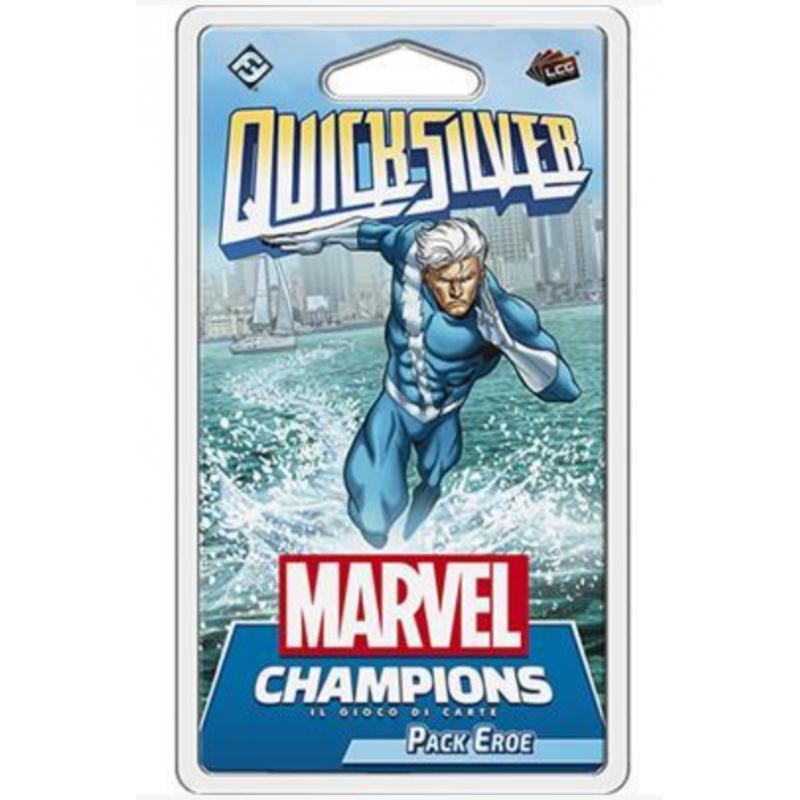QUICKSILVER espansione PACK EROE il gioco di carte MARVEL CHAMPIONS lcg ASMODEE età 12+ Asmodee - 1