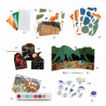 ATTIVITA' CREATIVE dinosauri DINO BOX assortite KIT ARTISTICO djeco DJ09331 età 6+ Djeco - 4