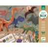 ATTIVITA' CREATIVE dinosauri DINO BOX assortite KIT ARTISTICO djeco DJ09331 età 6+ Djeco - 5
