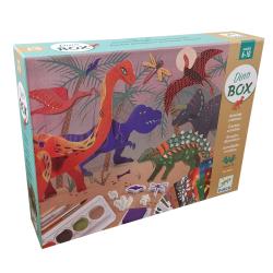 ATTIVITA' CREATIVE dinosauri DINO BOX assortite KIT ARTISTICO djeco DJ09331 età 6+ Djeco - 1
