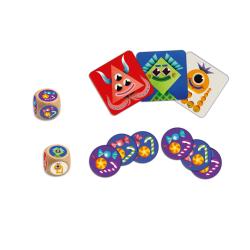 SWEET MONSTER gioco di società LOGICA E MEMORIA mostro e caramelle DJECO DJ08545 età 4+ Djeco - 2