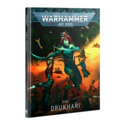 CODEX DRUKHARI manuale in italiano regolamento Warhammer 40000 Dark Eldar Games Workshop - 1