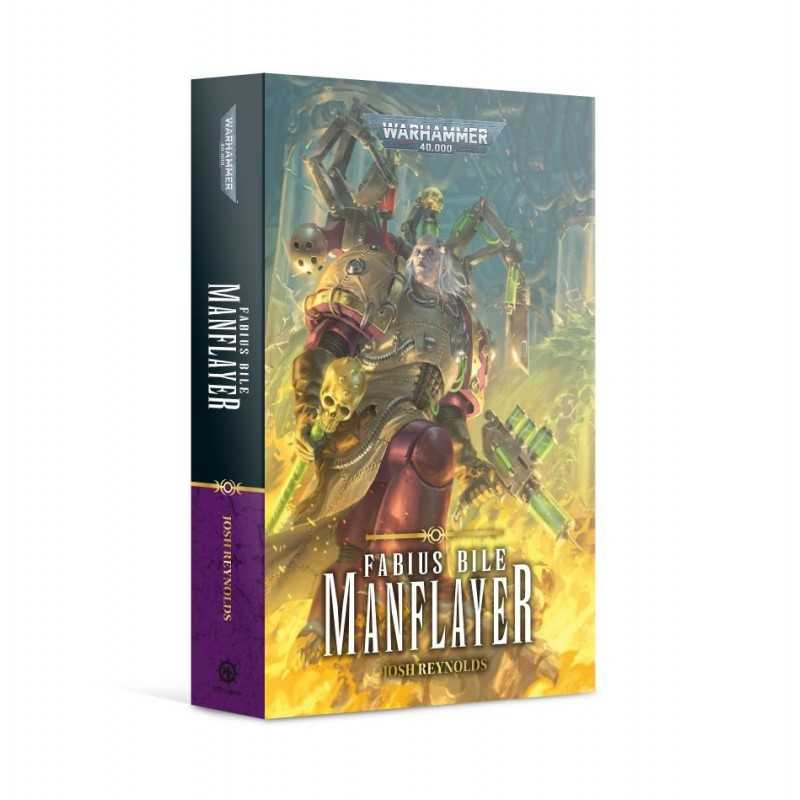 FABIUS BILE MANFLYER by Josh Reynolds Warhammer 40000 novel Black Library Games Workshop - 1