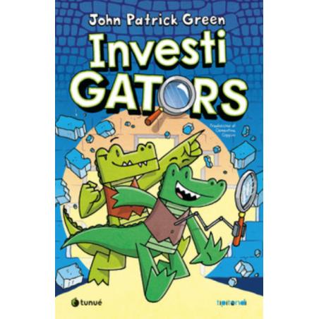 INVESTIGATORS tipitondi TUNUE libro per ragazzi JOHN PATRICK GREEN età 7+ TUNUE' - 1