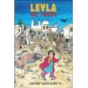 LEYLA NEL MEZZO lo stampatello editore SARAH GARLAND libro per bambini 6+  - 1