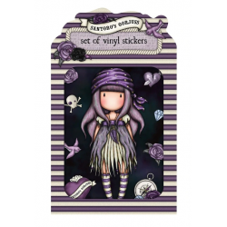 3 ADESIVI IN VINILE vinyl sticker pack SEA NIXIE gorjuss VIOLA santoro 1062GJ02 Gorjuss - 1