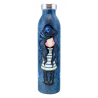 BORRACCIA TERMICA insulated metal water bottle BLACK PEARL gorjuss BLU santoro 1103GJ01 Gorjuss - 2