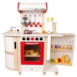 CUCINA MULTIFUNZIONE gioco di imitazione legno età 3+ Hape Kitchen E8018