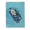 NOTEBOOK A6 GLITTER with pvc cover BLACK PEARL gorjuss BLU santoro 1106GJ01 taccuino Gorjuss - 3