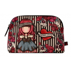 BUSTA LARGE accessory case MARY ROSE gorjuss ROSSO santoro 1076GJ01 trousse Gorjuss - 2