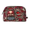 BUSTA LARGE accessory case MARY ROSE gorjuss ROSSO santoro 1076GJ01 trousse Gorjuss - 2