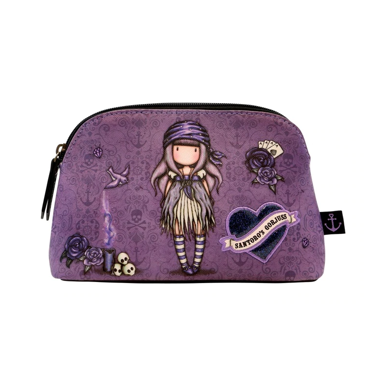 BUSTA accessory case SEA NIXIE gorjuss VIOLA santoro 1077GJ02 trousse Gorjuss - 2