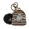 MINI PORTACHIAVI mini keyring clasp purse BLACK PEARL gorjuss BLU santoro 919GJ06 portachiavi Gorjuss - 2