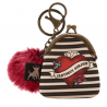 MINI PORTACHIAVI mini keyring clasp purse MARY ROSE gorjuss ROSSO santoro 919GJ08 portachiavi Gorjuss - 2