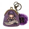 MINI PORTACHIAVI mini keyring clasp purse SEA NIXIE gorjuss VIOLA santoro 919GJ07 portachiavi Gorjuss - 1