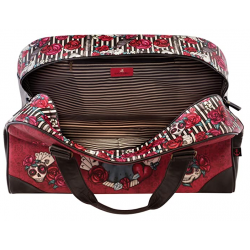 BORSA DA VIAGGIO weekender bag MARY ROSE gorjuss ROSSO santoro 1067GJ01 grande Gorjuss - 5