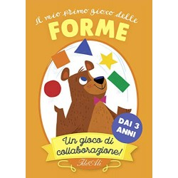 IL MIO PRIMO GIOCO DELLE FORME collaborazione CARTE ideeali IN ITALIANO età 3+ - 1