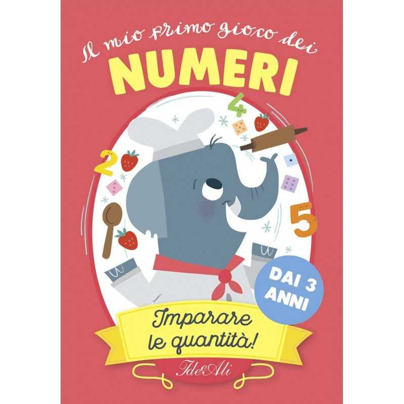 IL MIO PRIMO GIOCO DEI NUMERI quantità CARTE ideeali IN ITALIANO età 3+ - 1