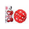 FOOOTY PACK red ROSSO portatile PALLA modulare DA 2D A 3D ball 10 PEZZI  - 1