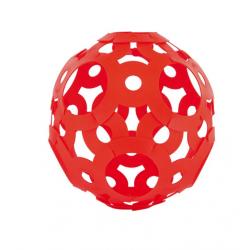 FOOOTY PACK red ROSSO portatile PALLA modulare DA 2D A 3D ball 10 PEZZI - 7