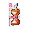 FOOOTY PACK orange ARANCIONE portatile PALLA modulare DA 2D A 3D ball 10 PEZZI FOOOTY - 3