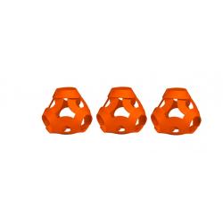 FOOOTY PACK orange ARANCIONE portatile PALLA modulare DA 2D A 3D ball 10 PEZZI FOOOTY - 12