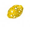 FOOOTY PACK yellow GIALLO portatile PALLA modulare DA 2D A 3D ball 10 PEZZI FOOOTY - 5