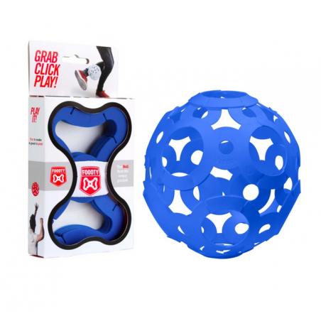FOOOTY PACK blue BLU portatile PALLA modulare DA 2D A 3D ball 10 PEZZI FOOOTY - 1