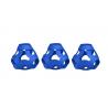 FOOOTY PACK blue BLU portatile PALLA modulare DA 2D A 3D ball 10 PEZZI FOOOTY - 7